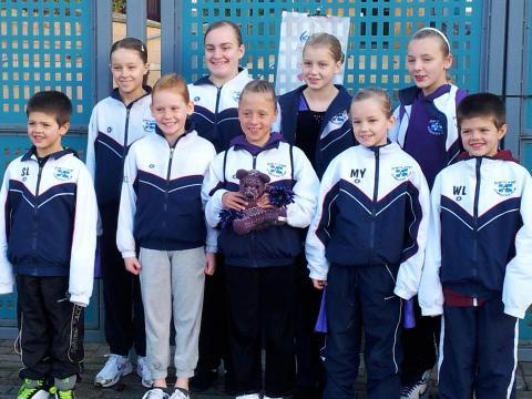 Shetland Gymnastics Club Competition Squad