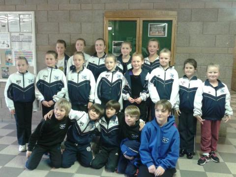 Inverness Highland Competition Squad Gymnasts 2013